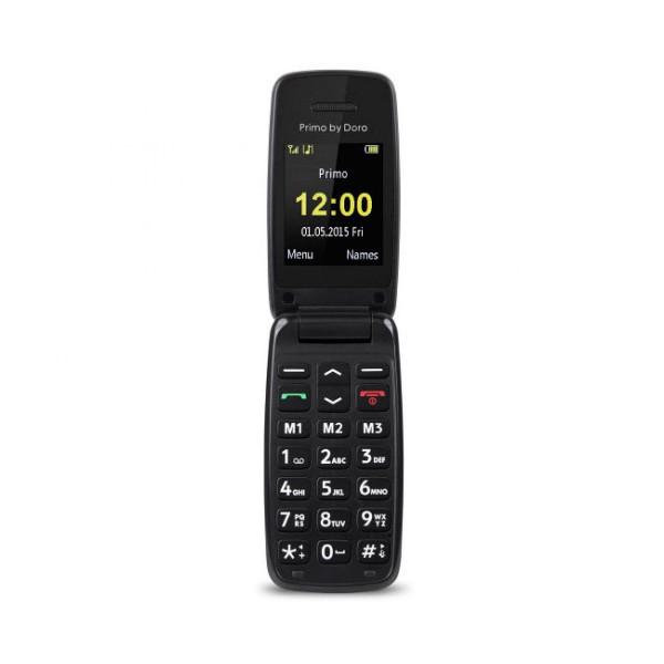 Doro primo 401 rojo móvil senior 2'' bluetooth radio fm fácil uso
