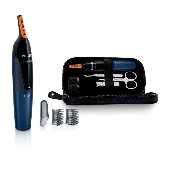 Philips nosetrimmer nt5180/15 recortador nariz y set de manicura
