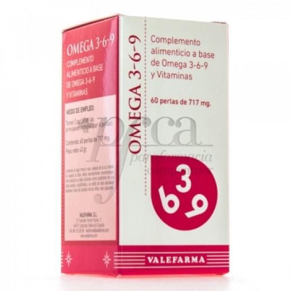 OMEGA 3-6-9 60 PERLAS VALEFARMA