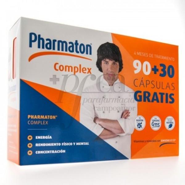 PHARMATON COMPLEX 90 + 30 CAPS PROMO