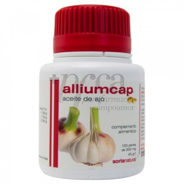 ALLIUMCAP ACEITE DE AJO SORIA NATURAL 150 06072