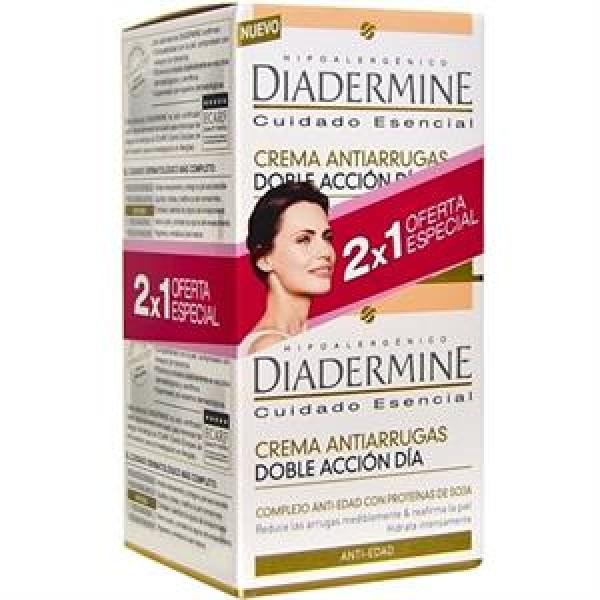 Diadermine crema antiarrugas doble acción día