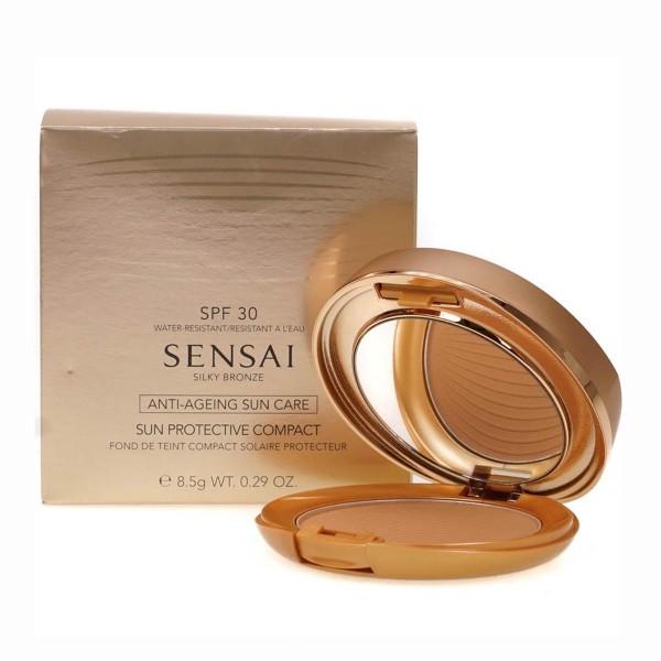 Kanebo sensai silky bronze anti ageing sun care compact spf30 sc04