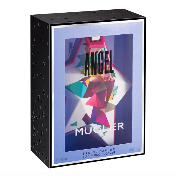 Thierry mugler angel eau de parfum 25ml vaporizador recargable art collection