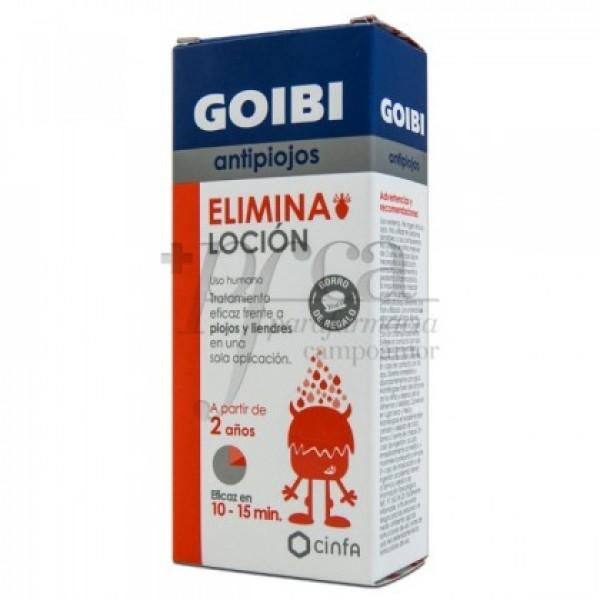 GOIBI ANTIPIOJOS ELIMINA LOCION 2A  125ML