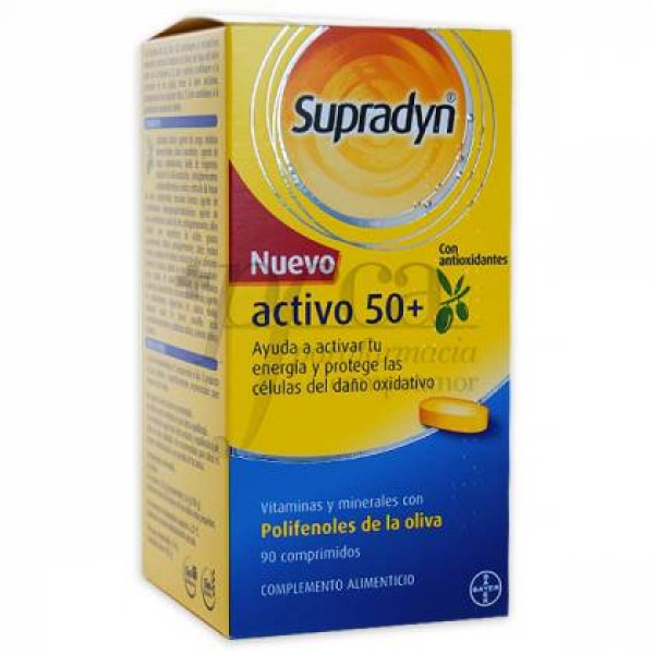 SUPRADYN ACTIVO 50+ CON ANTIOXIDANTES 90 COMPS