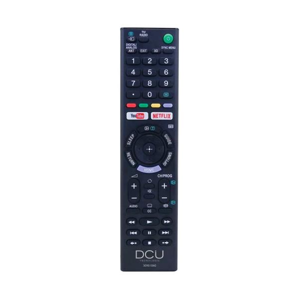 Dcu 30901060 mando a distancia universal para televisores sony lcd/led