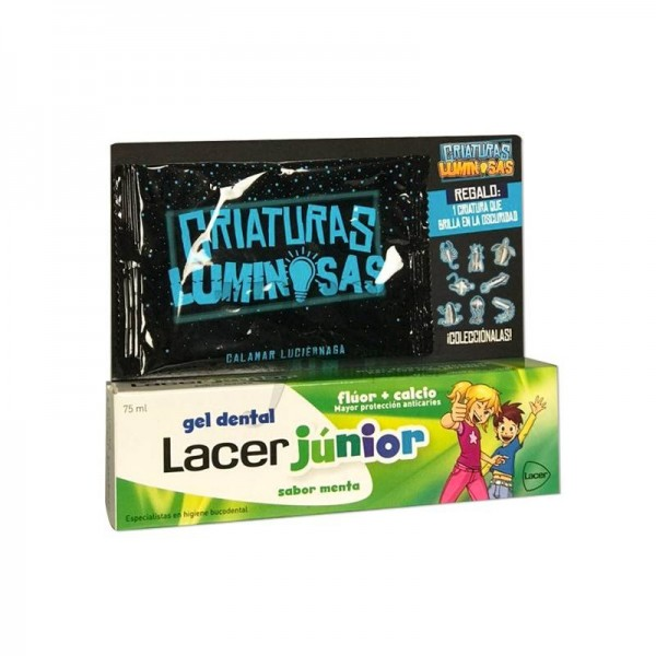 LACER JUNIOR GEL DENTAL MENTA 75ML+REGALO PROMO