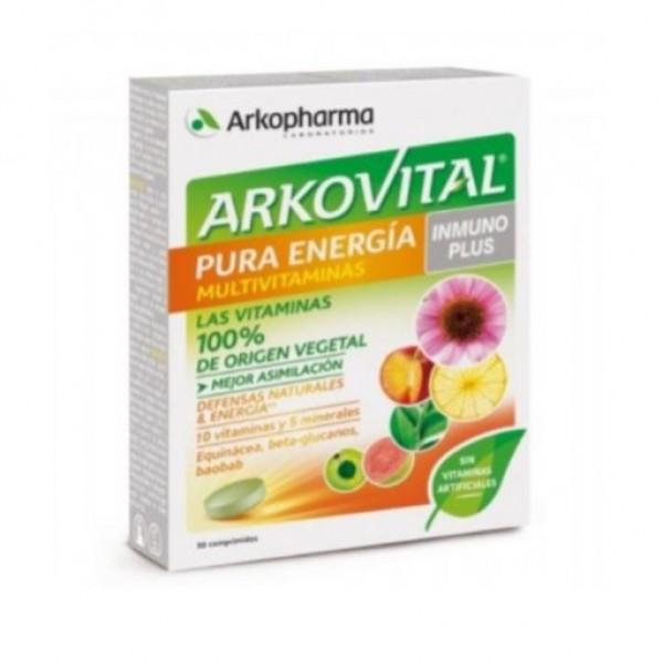 ARKOVITAL PURA ENERGIA INMUNOPLUS 30 COMPS