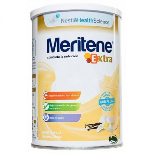 MERITENE EXTRA VAINILLA BOTE 450G