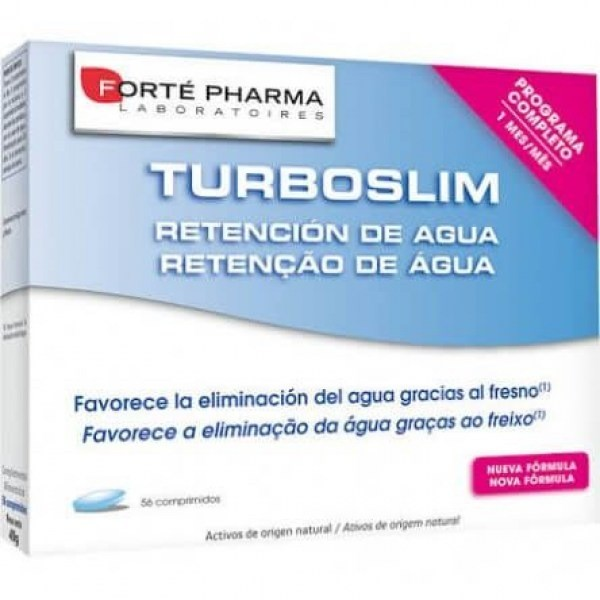 TURBOSLIM RETENCION DE AGUA 56 COMPS