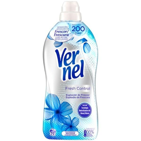 Vernel Aromaterapia Fresh Control suavizante 70 dosis